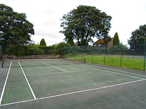 Court at Shadwell Tennis Club