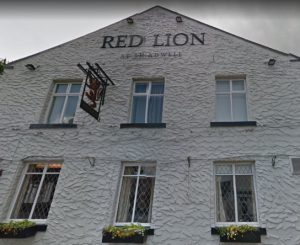 Red Lion Pub exterior from Main Street